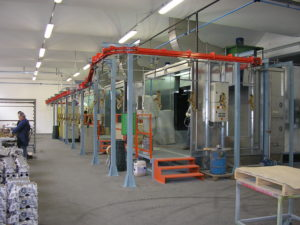 impianti di verniciatura industriale